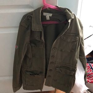Army green Forever 21 jacket !